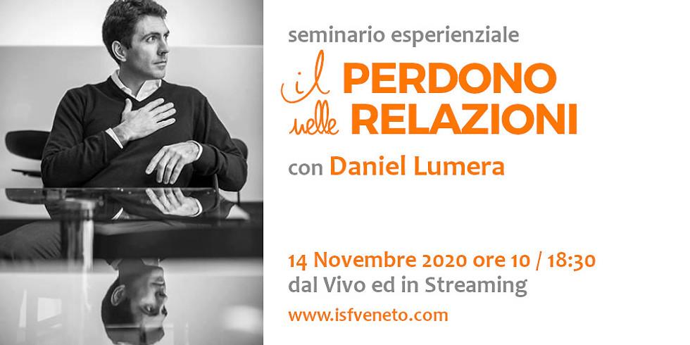 Perdono nelle Relazioni con Daniel Lumera a Verona ed in Streaming