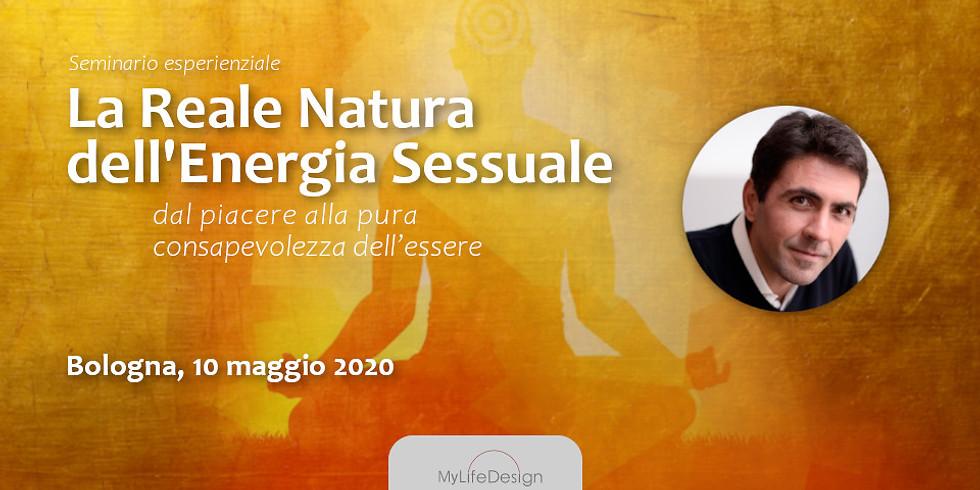La Reale Natura dell'Energia Sessuale con Daniel Lumera a Bologna