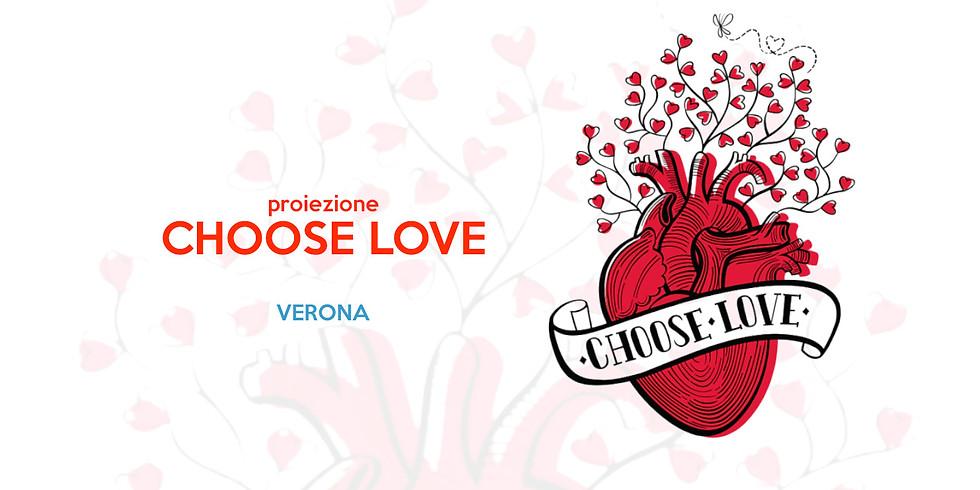 Proiezione Choose Love a Grezzana (Verona)