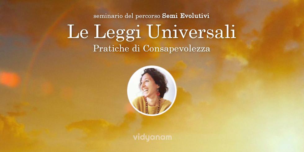 Le leggi Universali e le Fondamenta: pratiche base di Consapevolezza