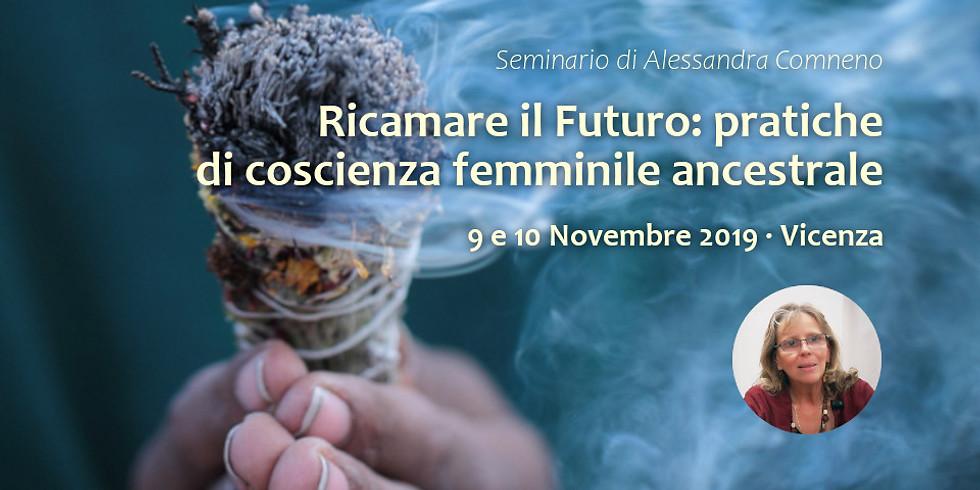 Alessandra Comeno in Ricamare il Futuro   Vicenza
