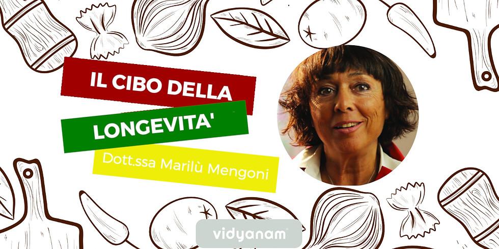 conferenza gratuita Il cibo della longevità con Marilù Mengoni