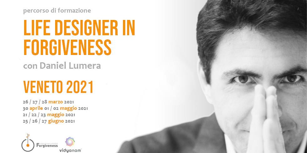 Percorso Life Designer in Forgiveness - Apertura Scuola Internazionale del Perdono con Daniel Lumera | Vicenza