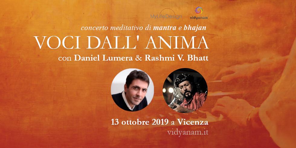 Daniel Lumera e Rashmi Batt in L'eco dall'anima   Vicenza