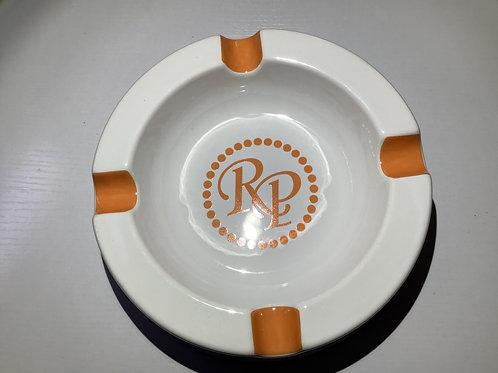 Rocky Patel Ashtray Orange & White