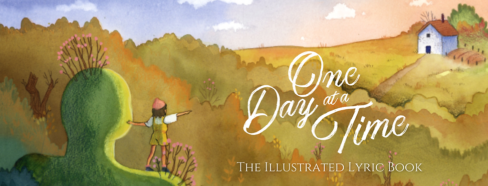One Day at a Time Book - Website Banner.