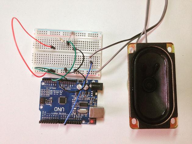 Circuito Ldr : Contador de objeto digital con interfaz de ldr de mediatek linkit
