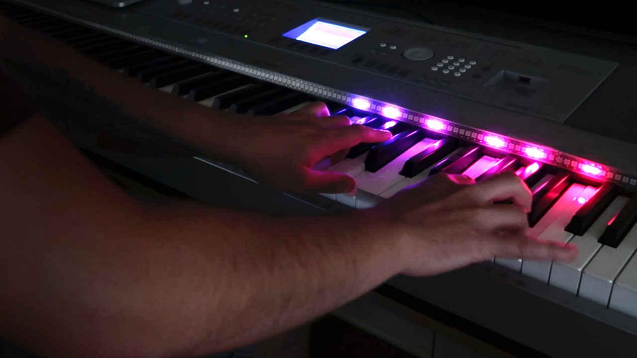 Arduino led piano
