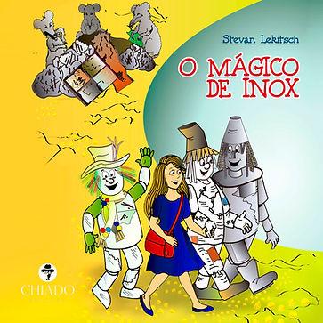 Capa do livro O Mágico de Inox
