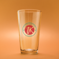 template-of-an-empty-pint-glass-against-
