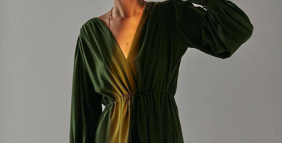 Vestido Vintage Verde