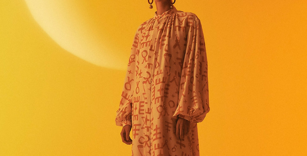 Vestido Marrocos Símbolos