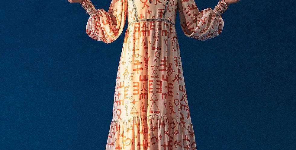 Vestido Berber Símbolos
