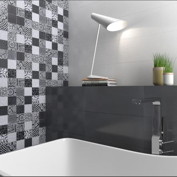 Serie Artic Negro 20x50