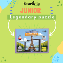 Legendary Landmarks Augmented Reality Puzzle
