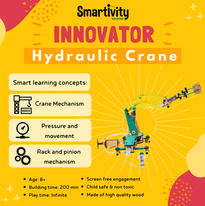 Pump it! Move it! Hydraulic Crane