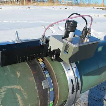 Ultrassonografia em tubulação na detecção de corrosão e vazamentos