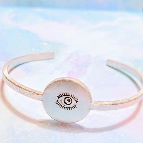 Collection Victoria Charlton Bracelet  oeil grand ouvert