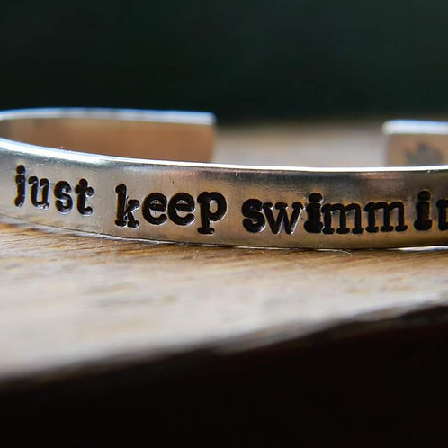 BRACELET - JUST KEEP SWIMMING