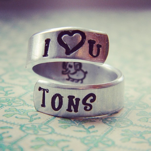 BAGUE - I love you tons