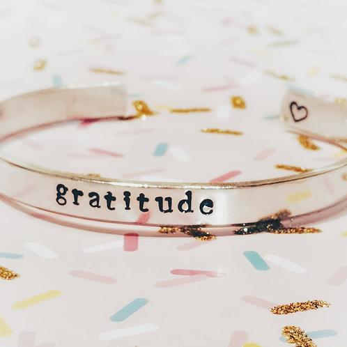 BRACELET - gratitude