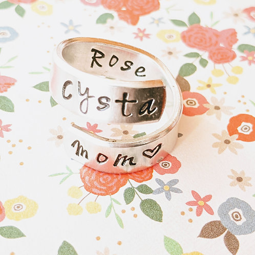 BAGUE - Cysta mom 💗