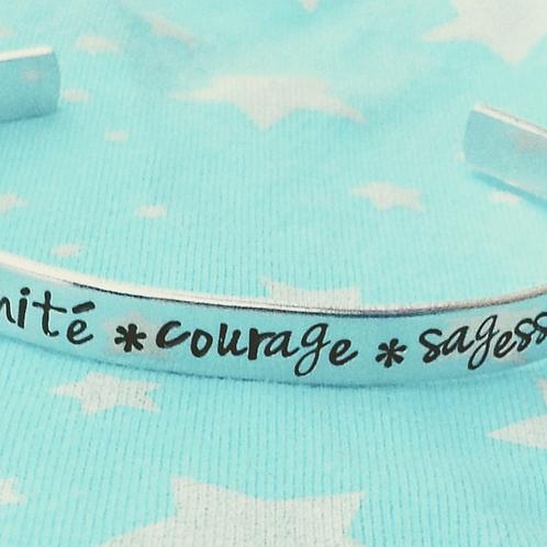 BRACELET -  sérénité, courage , sagesse