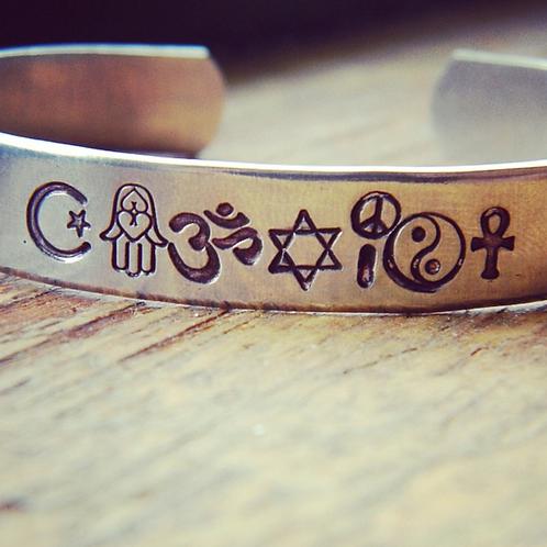 BRACELET - coexist, love is my religion