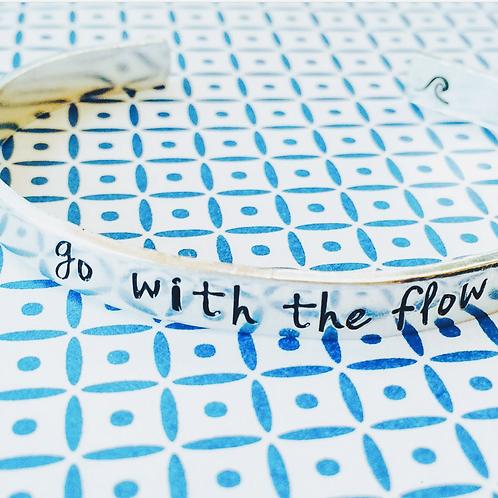 BRACELET -  go with the flow 🌊