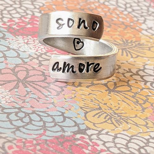 BAGUE - sono amore /je suis amour /I am love/soy amor