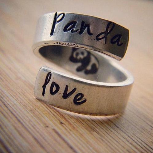 BAGUE - PANDA LOVE