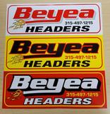 Beyea Headers Screen Print Straight Cut