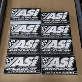 ASI Racewear Screen Printed Straight Cut