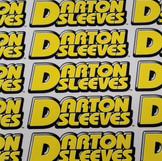Darton Sleeves Screen Printed Straight Cut