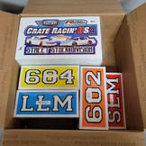Crate Racin' USA Digital and Screen Printed Decals