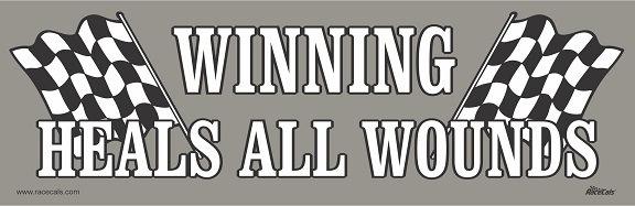Winning Heals All Wounds