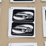 Steve McCool Screen Printed Straight Cut