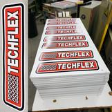 Techflex Screen Print Die Cut
