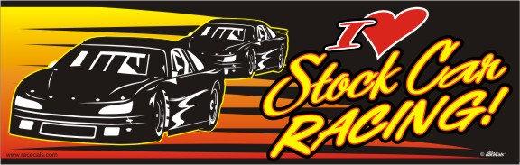 I Love Stock Car Racing!