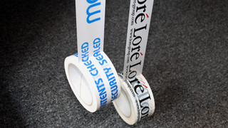Personalised Company Tape
