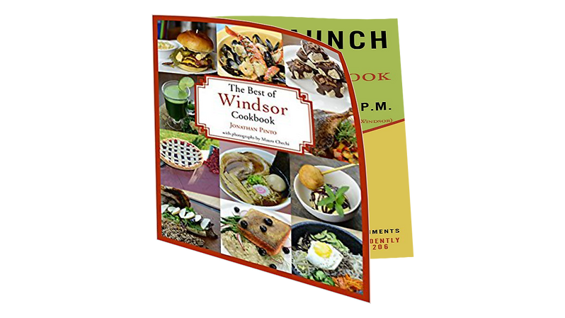 The Best of Windsor Cookbook by Jonathn Pinto