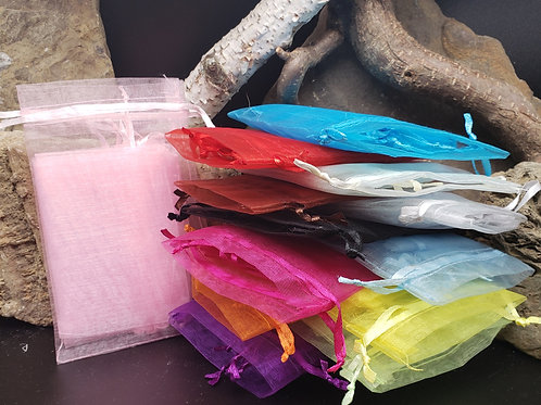 Assorted Colored Mesh Bags
