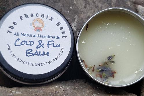 All Natural Handmade Cold & Flu Balm