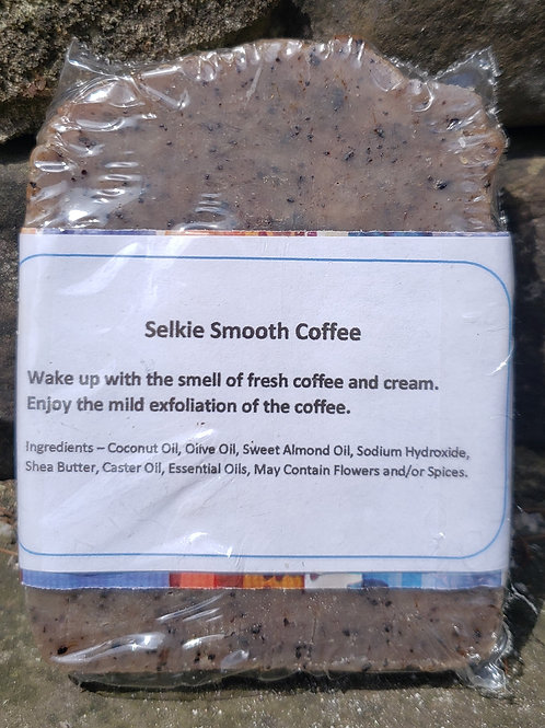Selkie Smooth Coffee Handmade Natural Soap
