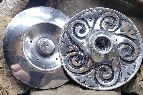Metal Spiral Candle Holder