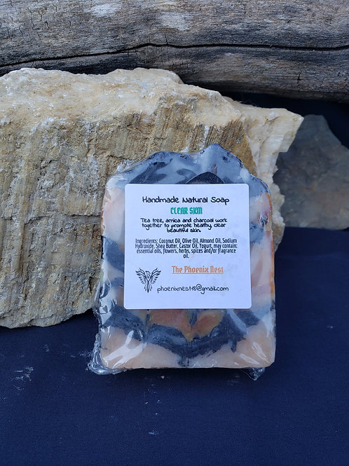Clear Skin Handmade Natural Soap