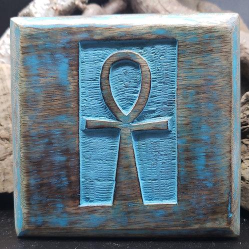 Wooden Ankh Box