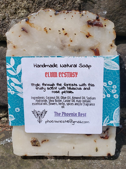 Cherry Hibiscus (Formerly Elvin Ecstasy) Handmade Natural Soap