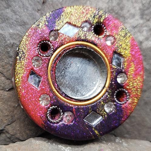 Small Circle Multicolor Cone Incense Holder