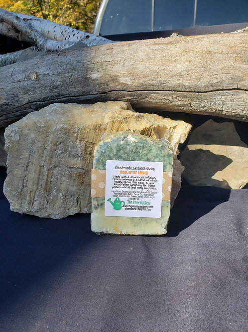 Jewel of the Garden Handmade Natural Soap